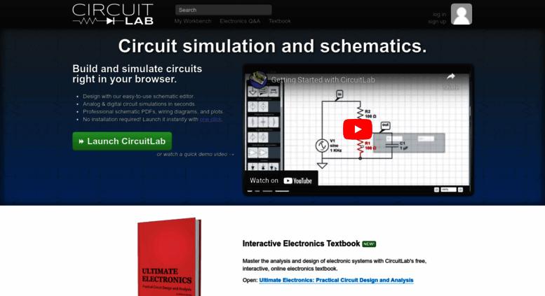 Access circuitlab.com. Online circuit simulator & schematic editor ...