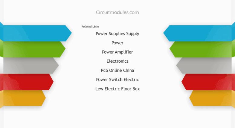 Access Circuitmodules Circuit Diagram And Layout Modules Pcb