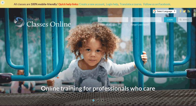 Access classesonline4u.com. STARS childcare training classes CDA ...