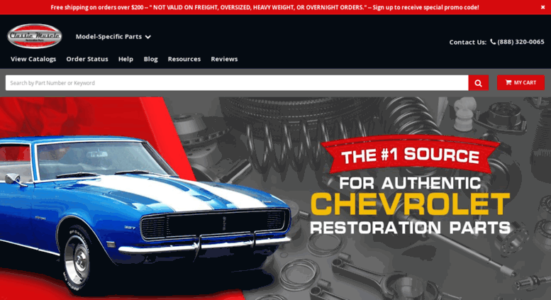 Access Classicmusclecom Classic Chevy Muscle Car Parts And Classic - Muscle car parts