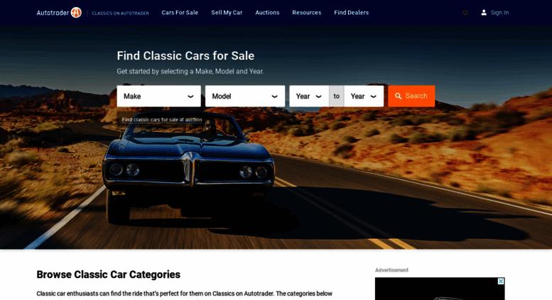 Access Classicsautotradercom Classic Cars And Trucks For Sale - Autotrader classic cars