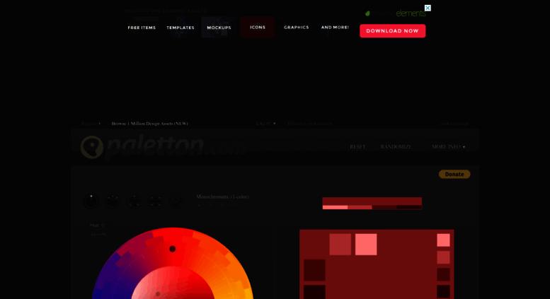 Access colorschemedesigner.com. Paletton - The Color Scheme Designer