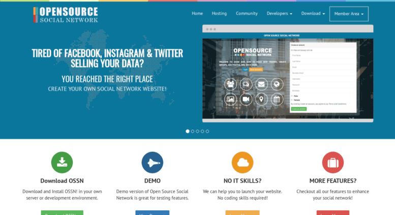 open source social network