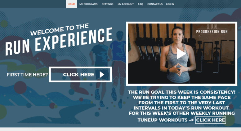the running experience