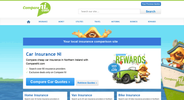 Car insurance quote for northern ireland