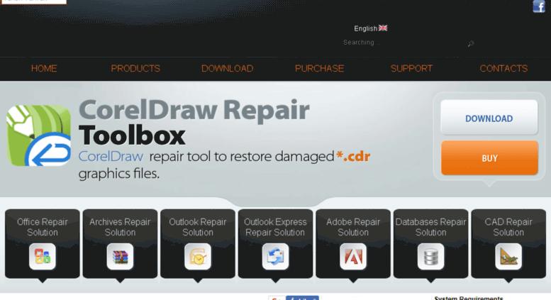download cdr file repair tool