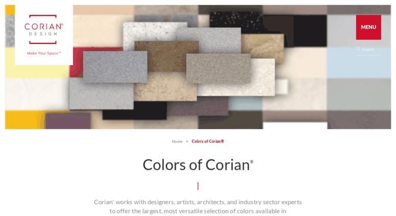 Access Coriansamples Colors Of Corian Dupont Corian Solid