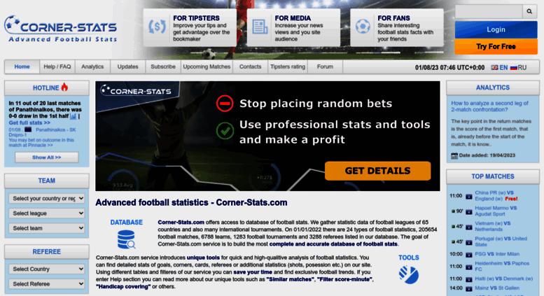 Football Corner Statistics - image 5