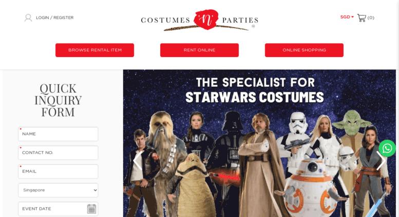 Access costumes,n,parties.com. Costumes \u0027N\u0027 Parties Pte Ltd
