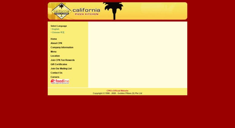 access cpkgps com california pizza kitchen company information rh accessify com