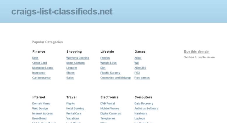 access craigs list classifieds net craigs list classifieds net