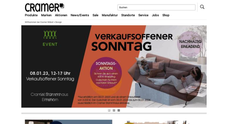 access cramer cramer m bel design design m bel in hamburg berlin und elmshorn. Black Bedroom Furniture Sets. Home Design Ideas
