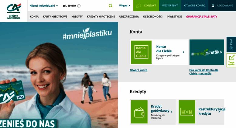 credit agricole pl