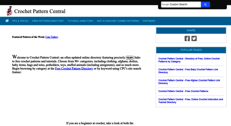Access Crochetpatterncentral Crochet Pattern Central Free