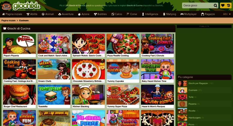 access cucinare-altro.giochixl.it. gioca a giochi di cucina su