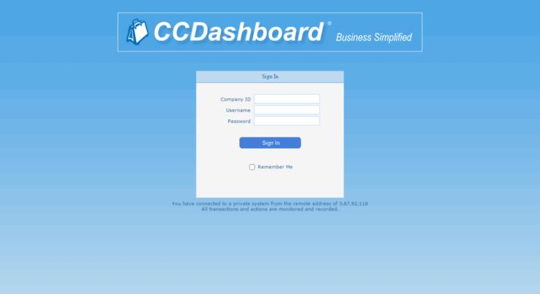 Charmant Dashboard.calclosets.com Screenshot