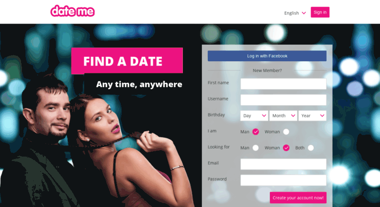 Date me dating site