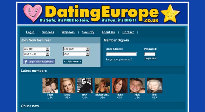 European dating site in Australia