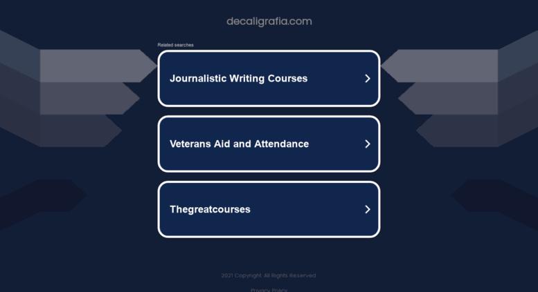 Access decaligrafiacom De Caligrafa  Fichas de caligrafa