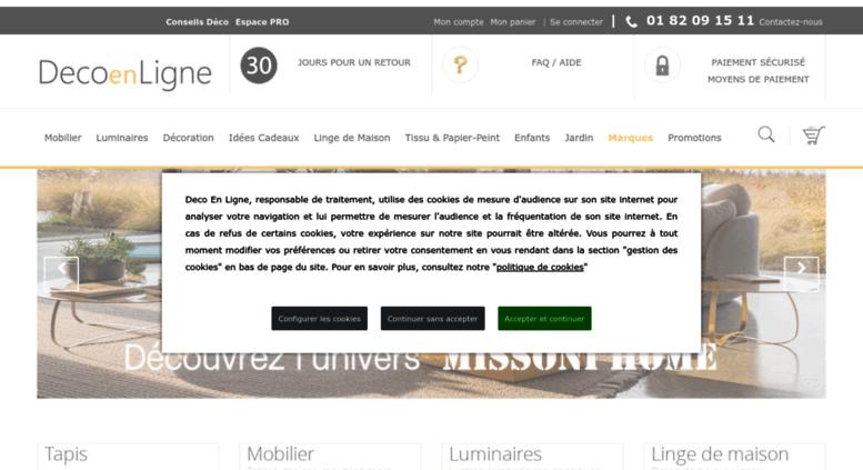 Boutique Design En Ligne access decoenligne.fr. déco en ligne, boutique objet déco design en