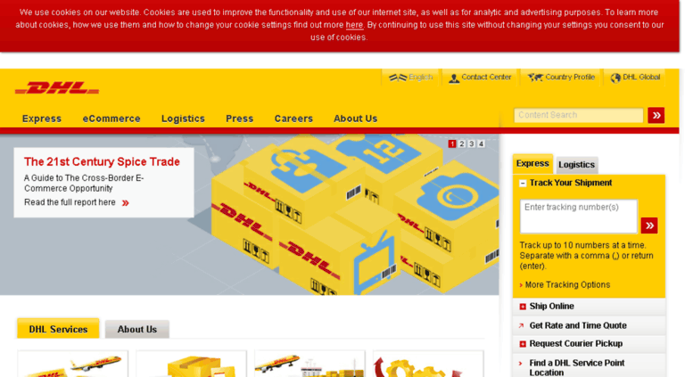 Dhl Quote Extraordinary Access Dhlsy Global Logistics International Shipping DHL