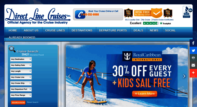 Access Directlinecruises Com Cruise Deals And Discount