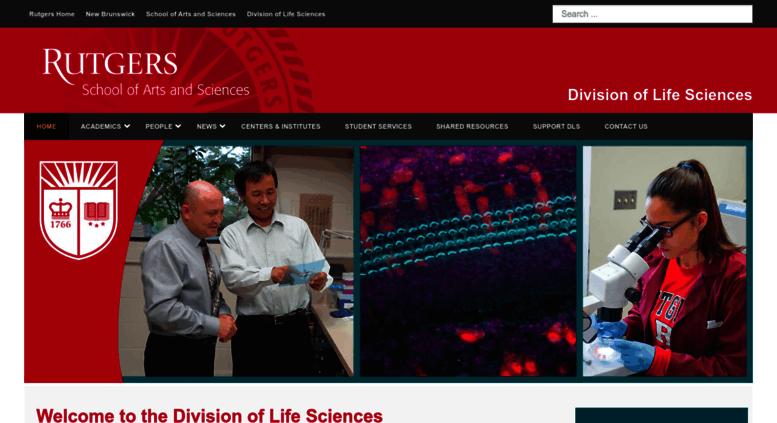 Dls.rutgers.edu Screenshot