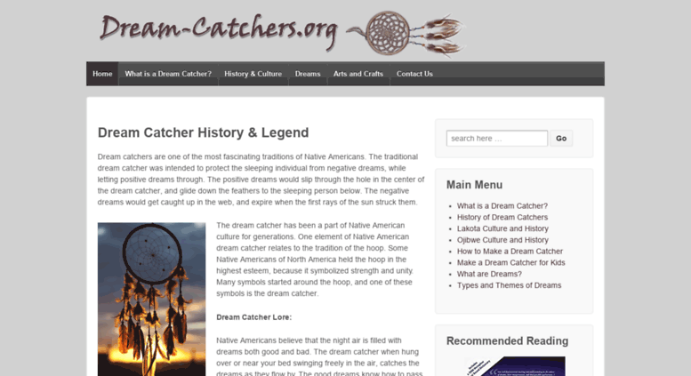 History Of Dream Catchers Custom Access Dreamcatchersorg Dream Catcher History Legend Dream