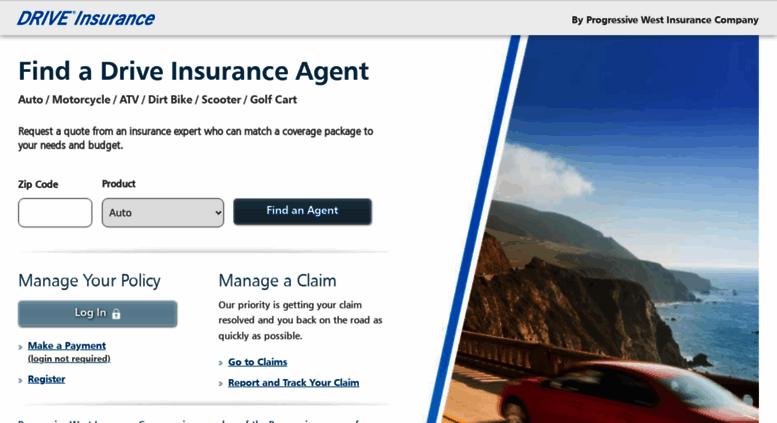 progressive west insurance Access driveinsurance.com. Drive Insurance by Progressive West ...
