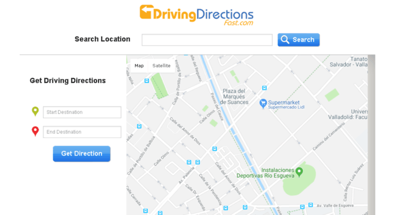 Mapquest Google Maps Directions on
