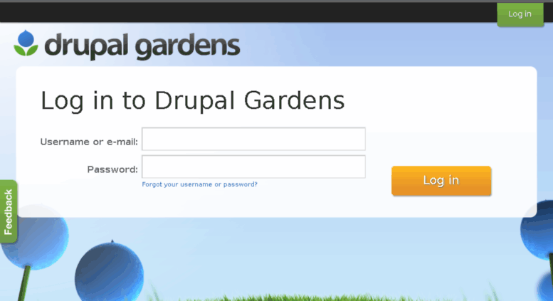 Access Drupalgardens.com. Drupal Gardens | Drupal Gardens Is A Product Of  Acquia