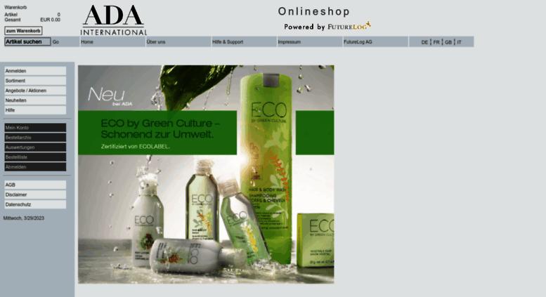 cosmetics eshop