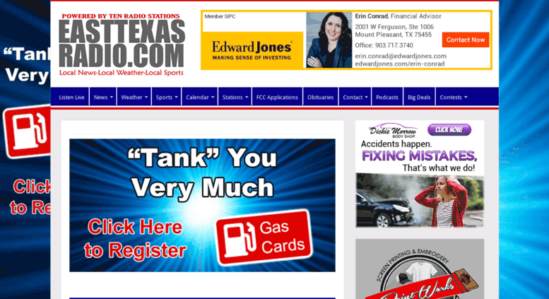 Access Easttexasradio Powered By Ten Stationsrhaccessify: East Texas Radio At Gmaili.net