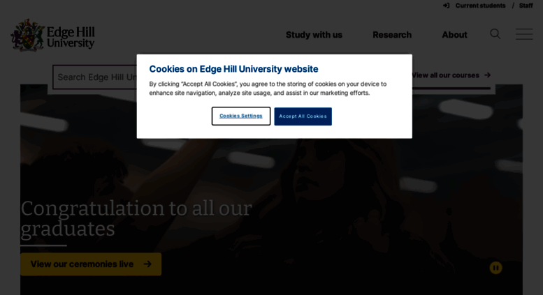 how to get to edge hill university
