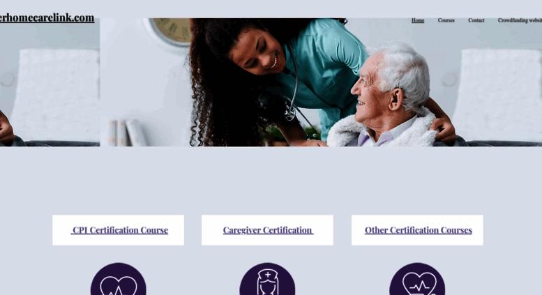 Access Elderhomecarelink Cpi Nursing Certification Crisis