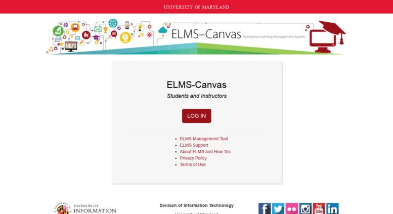 elms umd Access elms.umd.edu. ELMS