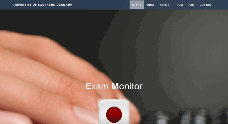 exam monitor sdu