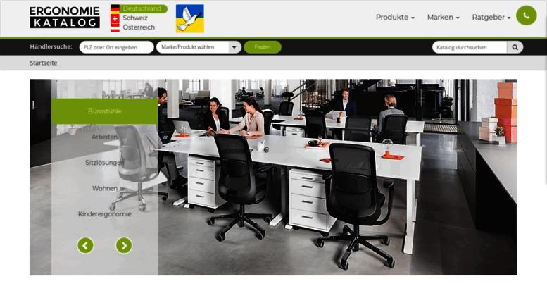 Access ergonomie-katalog.com. Ergonomie: Ergonomische Büromöbel ...
