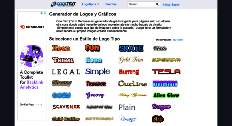 Access generador de logos y gr ficos for Generador de logos
