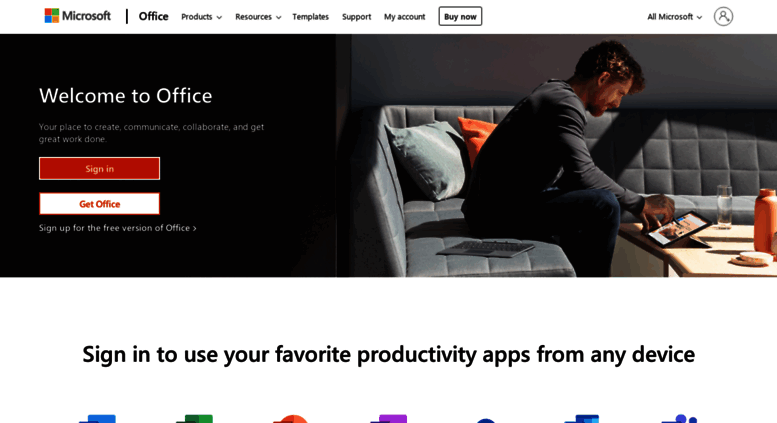 Access Excel Office Live Com Office 365 Login Microsoft Office