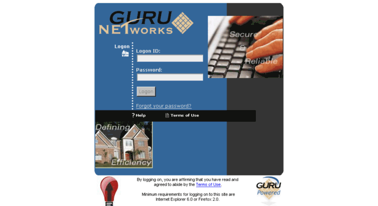 express.gurunet.net screenshot