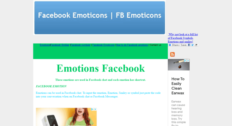 List Of Emoticons Facebook Symbols The Emoji