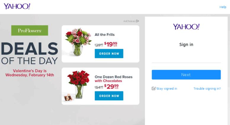Yahoo member login