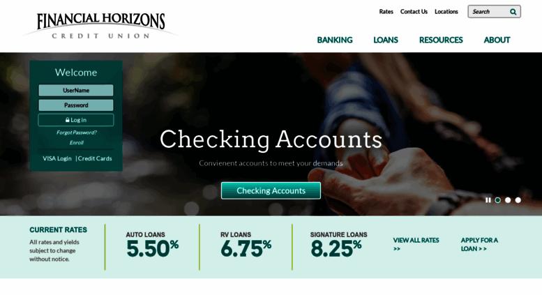 fhcunv Access fhcunv.org. Financial Horizons Credit Union | Nevada Credit ...