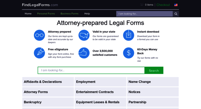 Access Findlegalformscom Legal Forms AttorneyPrepared Ready To - Find legal documents