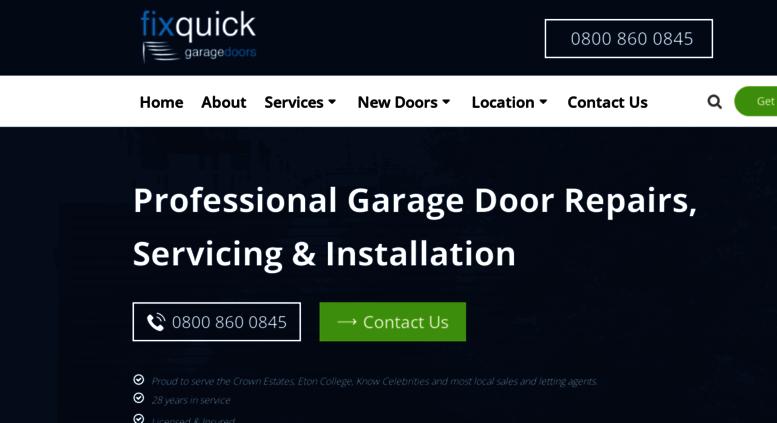Fix Quick Garage Doors Images Door Design For Home