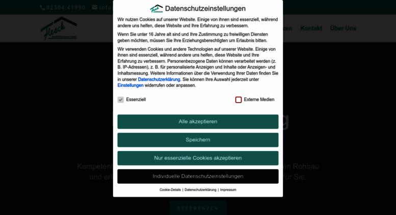 Bauunternehmen Schwerte access fleschbau de flesch bauunternehmung gmbh in schwerte umbau
