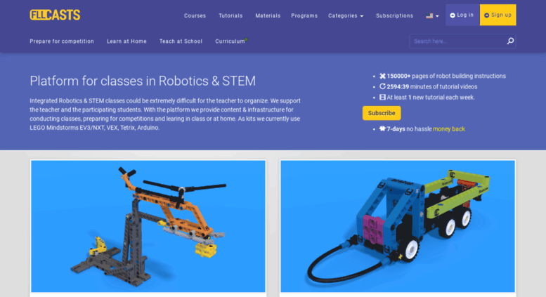 Access Fllcasts Robotics Lessons And Resources