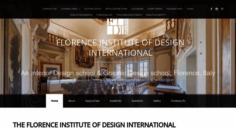 access florence institute com fidi design school in italy masters