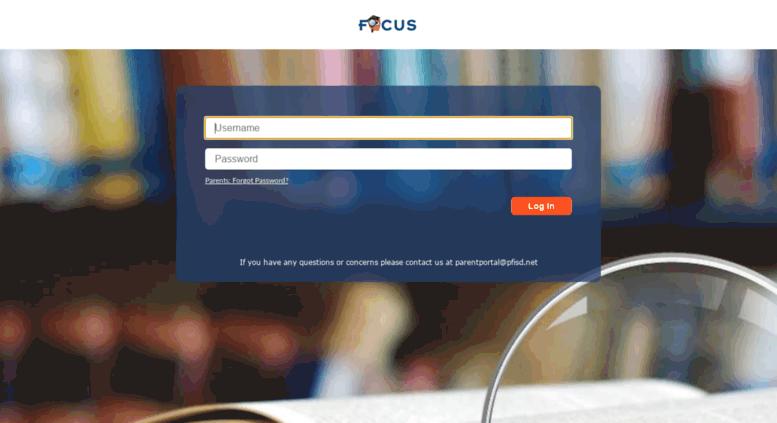focus pfisd Access focus.pfisd.net. PFISD - Focus/SIS, Focus/BIS